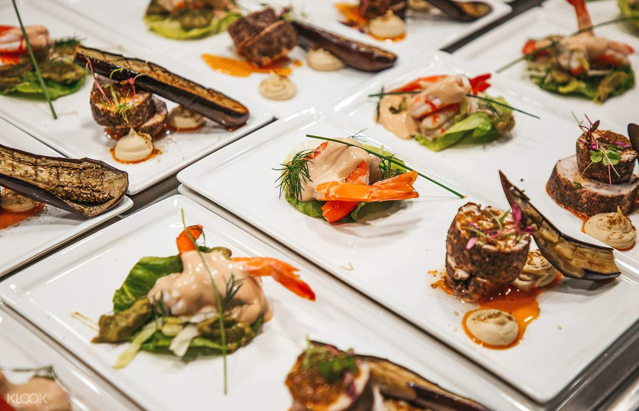 3-course meal sydney harbour